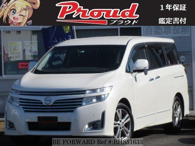 Used 2012 NISSAN ELGRAND BH851633 for Sale