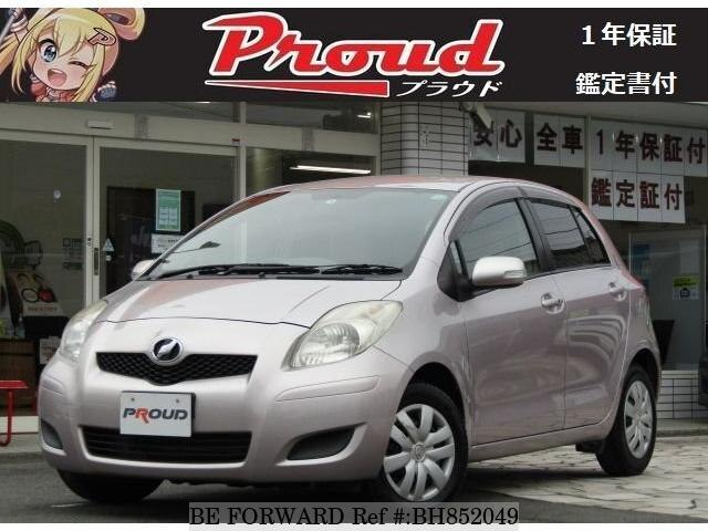 Used 2010 TOYOTA VITZ BH852049 for Sale