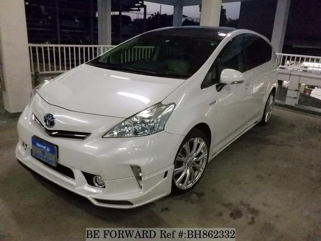 Used 2012 TOYOTA PRIUS ALPHA BH862332 for Sale