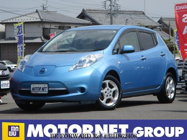 Used 2012 NISSAN LEAF BH862408 for Sale