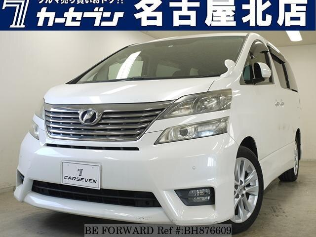 Used 2008 TOYOTA VELLFIRE BH876609 for Sale