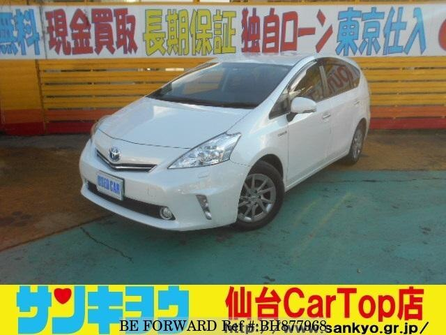 Used 2014 TOYOTA PRIUS ALPHA BH877968 for Sale