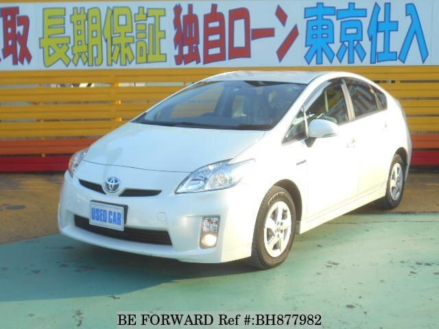 Used 2010 TOYOTA PRIUS BH877982 for Sale