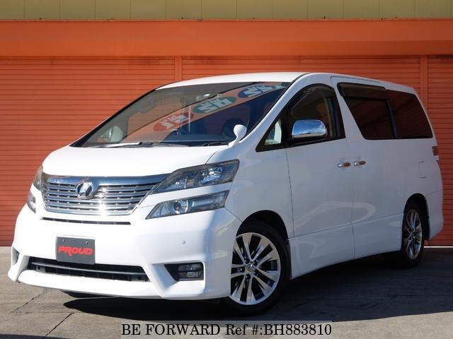 Used 2011 TOYOTA VELLFIRE BH883810 for Sale