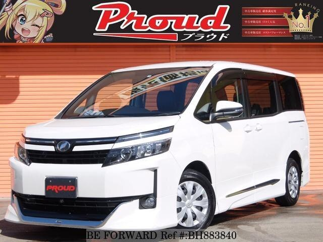 Used 2014 TOYOTA VOXY BH883840 for Sale