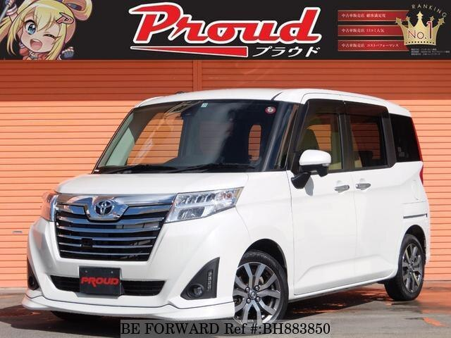 Used 2017 TOYOTA ROOMY BH883850 for Sale