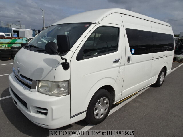 Used 2005 TOYOTA HIACE WAGON BH883935 for Sale