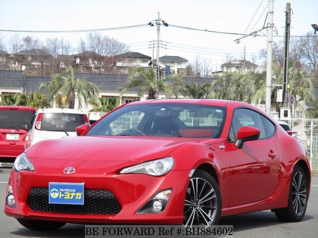 Used 2013 TOYOTA 86 BH884602 for Sale