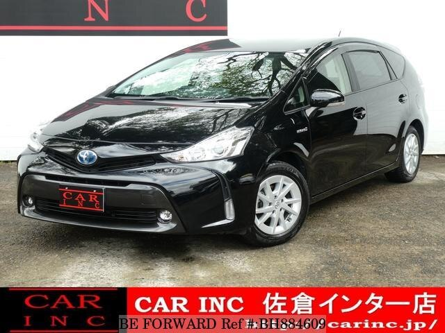 Used 2016 TOYOTA PRIUS ALPHA BH884609 for Sale