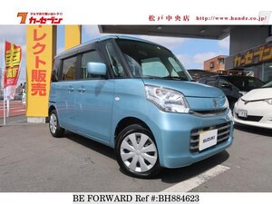 Used 2015 SUZUKI SPACIA BH884623 for Sale