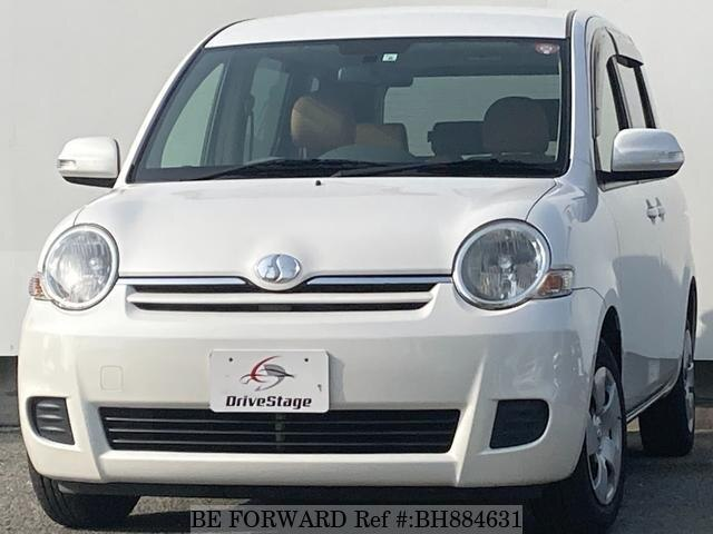 Used 2012 TOYOTA SIENTA BH884631 for Sale