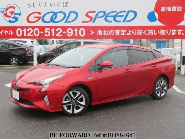 Used 2017 TOYOTA PRIUS BH884641 for Sale