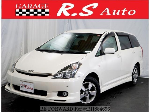 Used 2004 TOYOTA WISH BH884696 for Sale