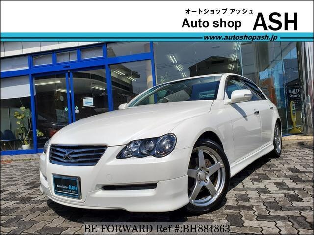 Used 2009 TOYOTA MARK X BH884863 for Sale