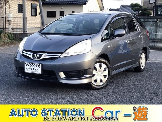 Used 2011 HONDA FIT SHUTTLE BH884877 for Sale
