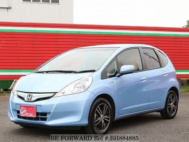 Used 2013 HONDA FIT HYBRID BH884885 for Sale