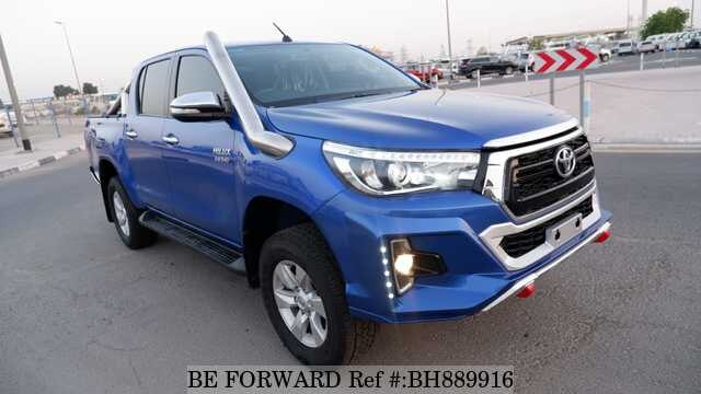 Used 2017 TOYOTA HILUX BH889916 for Sale