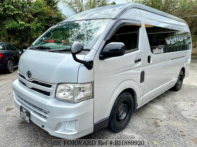 Used 2012 TOYOTA HIACE COMMUTER BH889920 for Sale