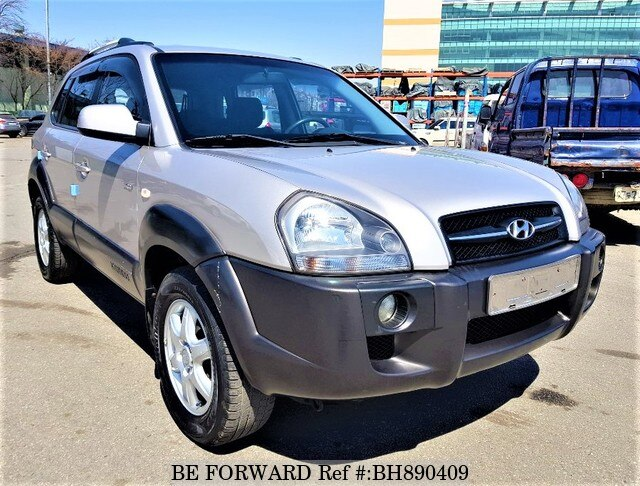 Used 2005 HYUNDAI TUCSON BH890409 for Sale