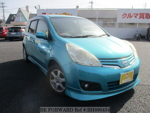 Used 2008 NISSAN NOTE BH890454 for Sale