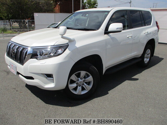 Used 2019 TOYOTA LAND CRUISER PRADO BH890460 for Sale