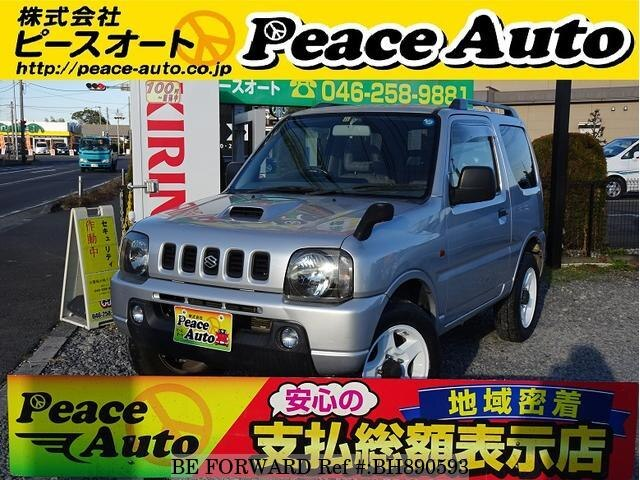 Used 2001 SUZUKI JIMNY BH890593 for Sale