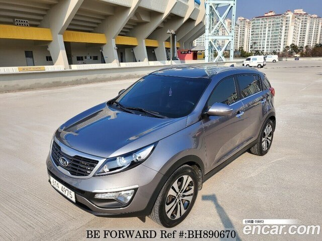 Used 2012 KIA SPORTAGE BH890670 for Sale