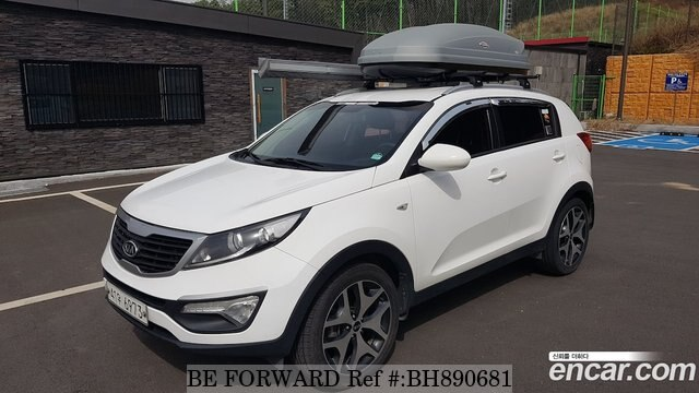 Used 2012 KIA SPORTAGE BH890681 for Sale