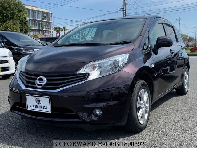 Used 2014 NISSAN NOTE BH890692 for Sale