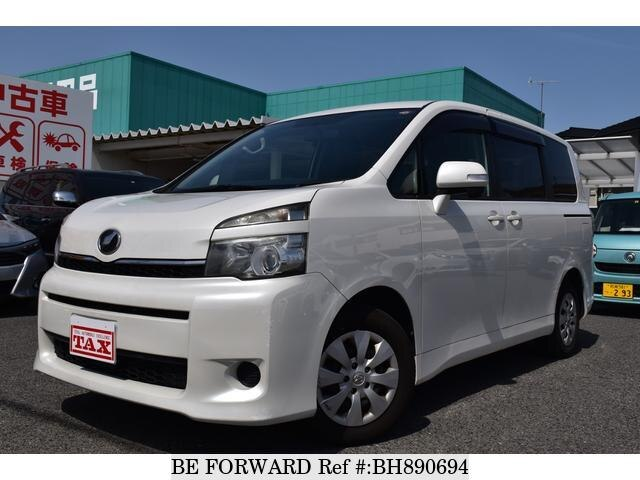 Used 2010 TOYOTA VOXY BH890694 for Sale