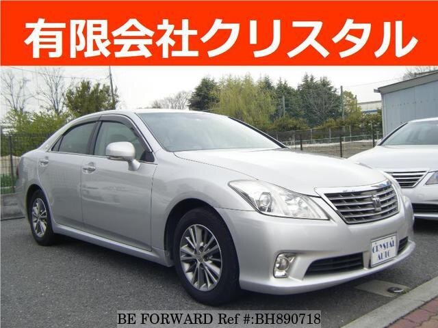 Used 2010 TOYOTA CROWN BH890718 for Sale