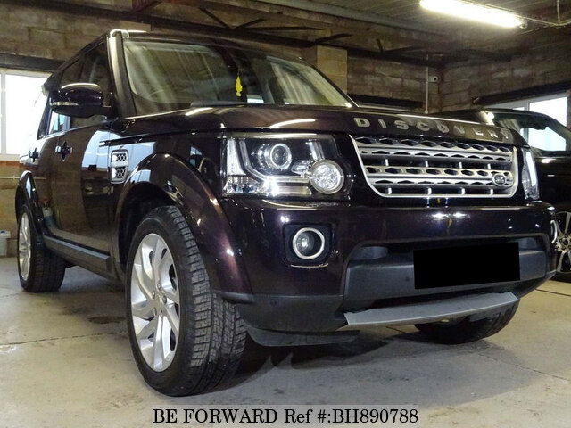 Used 2014 LAND ROVER DISCOVERY 4 BH890788 for Sale