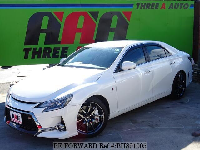 Used 2018 TOYOTA MARK X BH891005 for Sale
