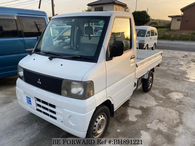 Used 2002 MITSUBISHI MINICAB TRUCK BH891221 for Sale