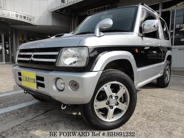Used 2006 MITSUBISHI PAJERO MINI BH891232 for Sale
