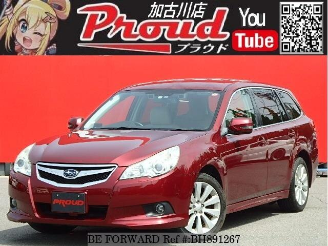 Used 2010 SUBARU LEGACY TOURING WAGON BH891267 for Sale
