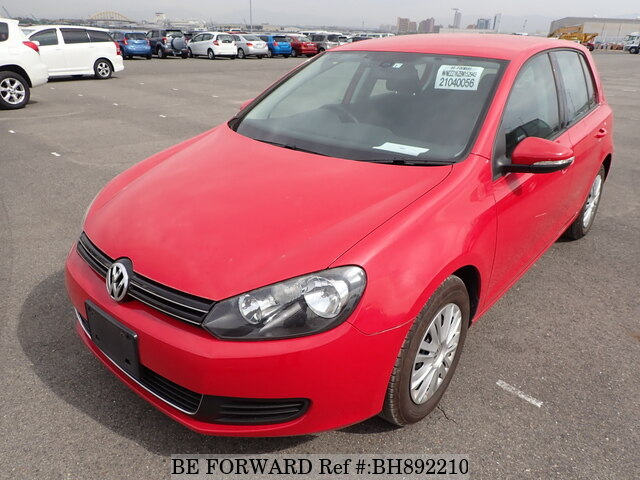 Used 2011 VOLKSWAGEN GOLF BH892210 for Sale