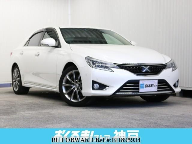 Used 2012 TOYOTA MARK X BH895934 for Sale