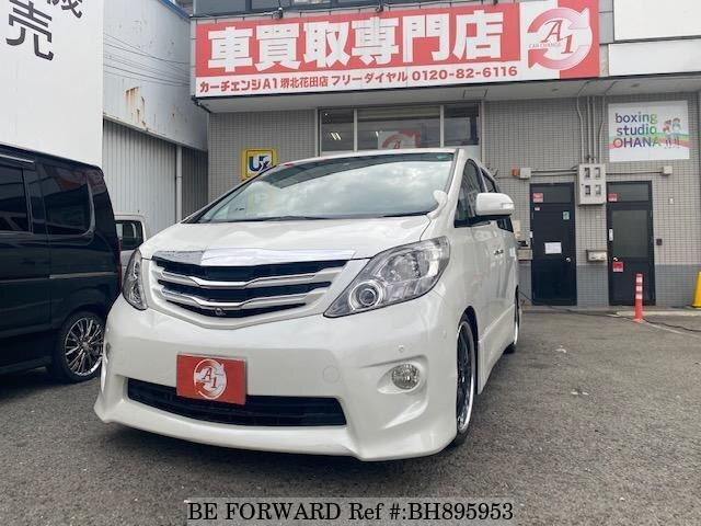 Used 2008 TOYOTA ALPHARD BH895953 for Sale