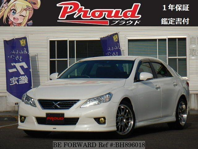 Used 2012 TOYOTA MARK X BH896018 for Sale