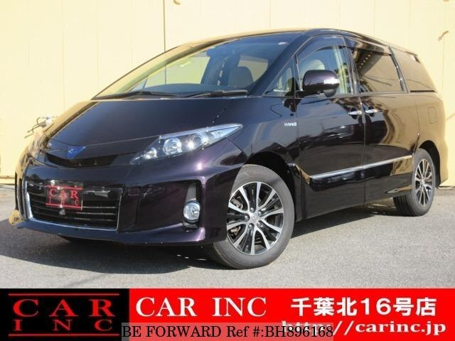 Used 2015 TOYOTA ESTIMA HYBRID BH896168 for Sale