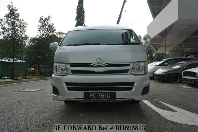 Used 2011 TOYOTA HIACE COMMUTER BH896813 for Sale