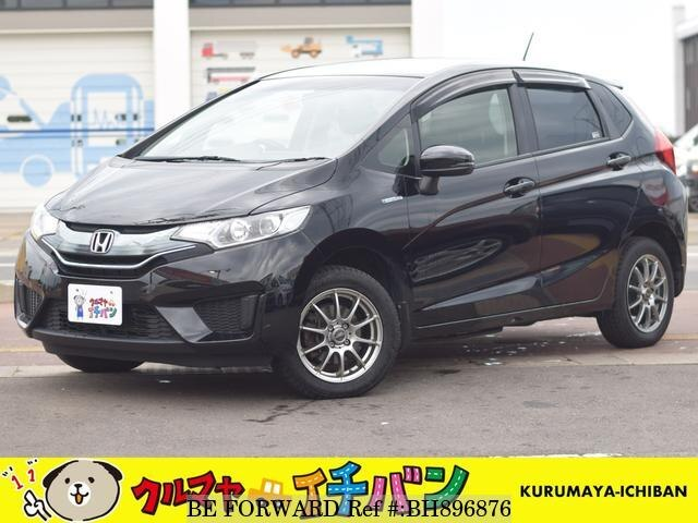 Used 2014 HONDA FIT HYBRID BH896876 for Sale