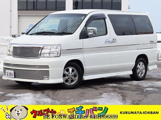 Used 2002 NISSAN ELGRAND BH896899 for Sale
