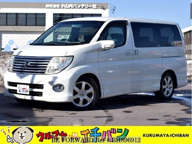 Used 2005 NISSAN ELGRAND BH896912 for Sale