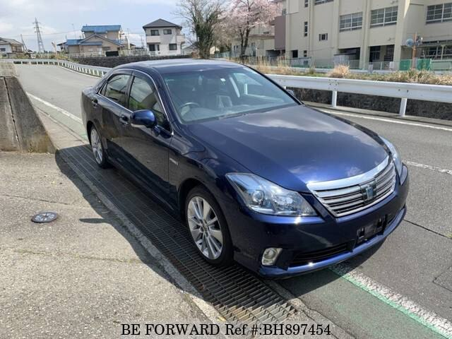 Used 2010 TOYOTA CROWN HYBRID BH897454 for Sale