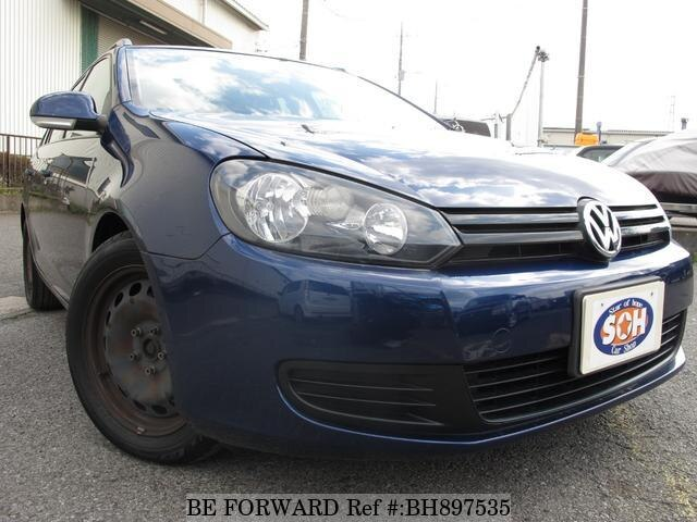 Used 2010 VOLKSWAGEN GOLF VARIANT BH897535 for Sale