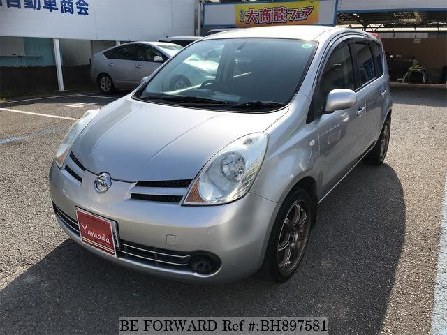 Used 2007 NISSAN NOTE BH897581 for Sale