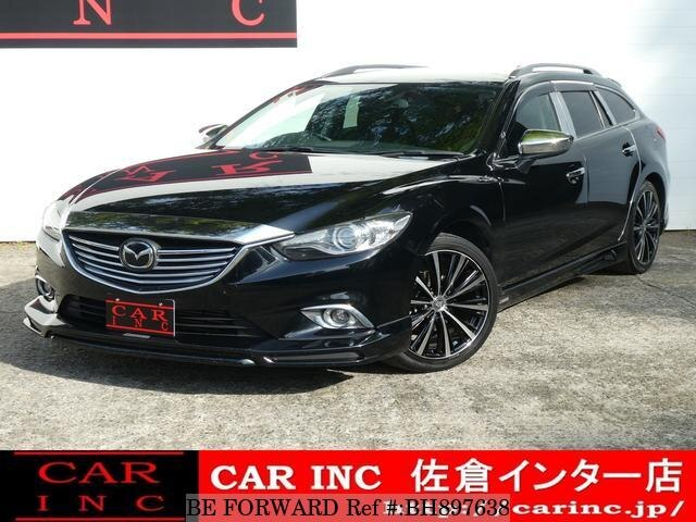 Used 2013 MAZDA ATENZA WAGON BH897638 for Sale