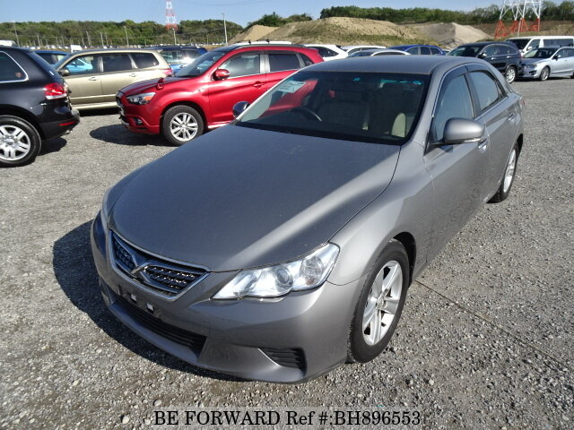Used 2010 TOYOTA MARK X BH896553 for Sale
